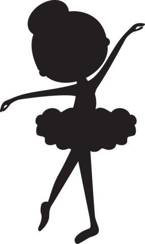 Silhouette Ballerina 1 - Minus Mais
