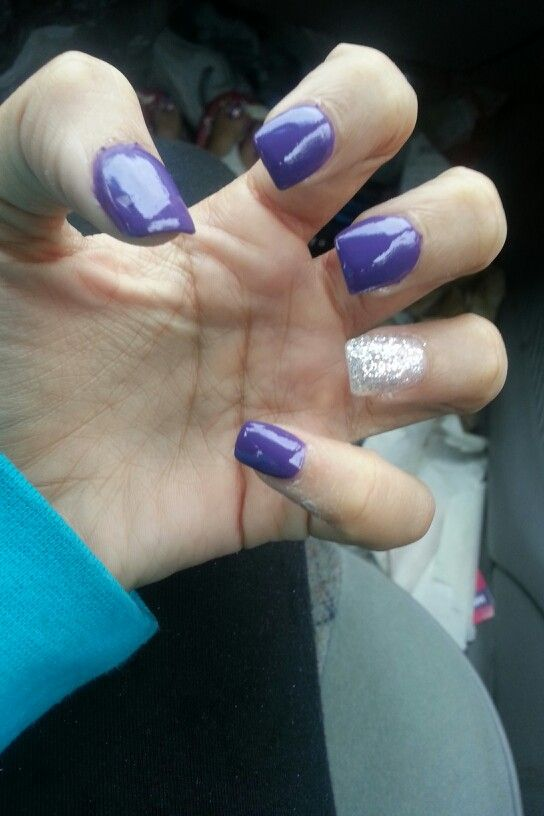 #purpleandglitter