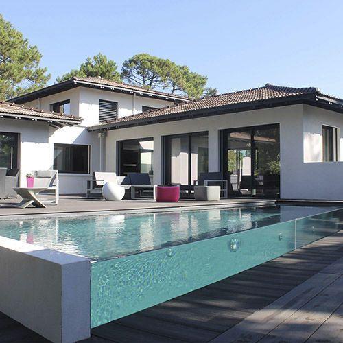 101 Bilder von Pool im Garten - gartengestaltung pool flusssteine - kosten pool im garten