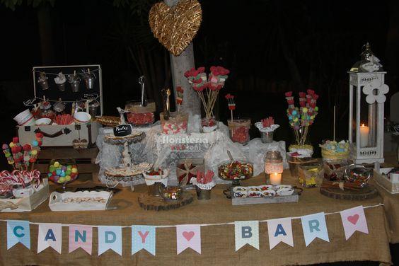 Parte Matrimonio Rustico : Candy bar rustico parte dulce pinterest