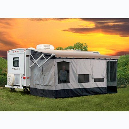 Carefree 291000 Vacation R Screen Room For 10 To 11 Awning Walmart Com Rv Screen Rooms Rv Screen Add A Room