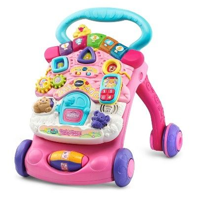 Vtech Stroll And Discover Activity Walker Pink Discover