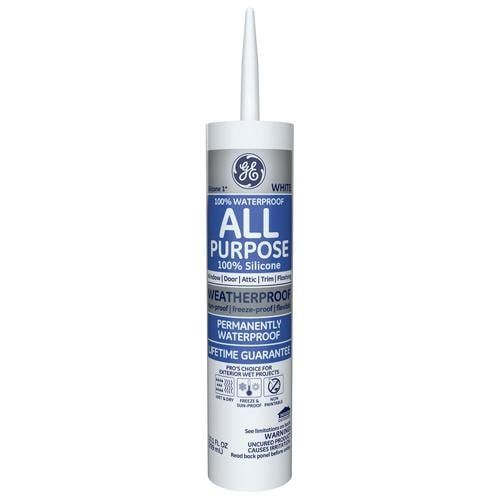 Shop Ge Silicone 1 10 1 Oz White Silicone Caulkundefined At Lowe S Com From The 1 Silicone Brand All Purpose Silicone 1 Sealant In 2020 Silicone Caulk Caulk Sealant