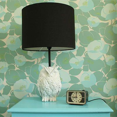 DIY – Owl lamp