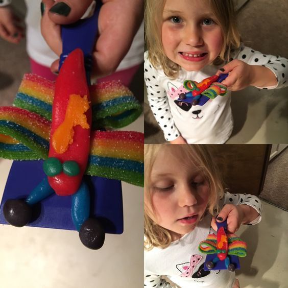 #airheadcraft. Had a blast making these with my daughter. Thanks  #Smiley360 #gotitfree