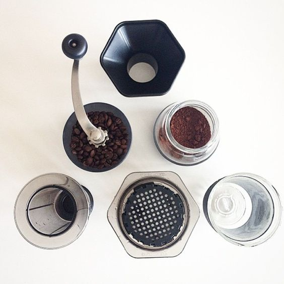 coffeestudent:   @originalaeropress at live minimalistic