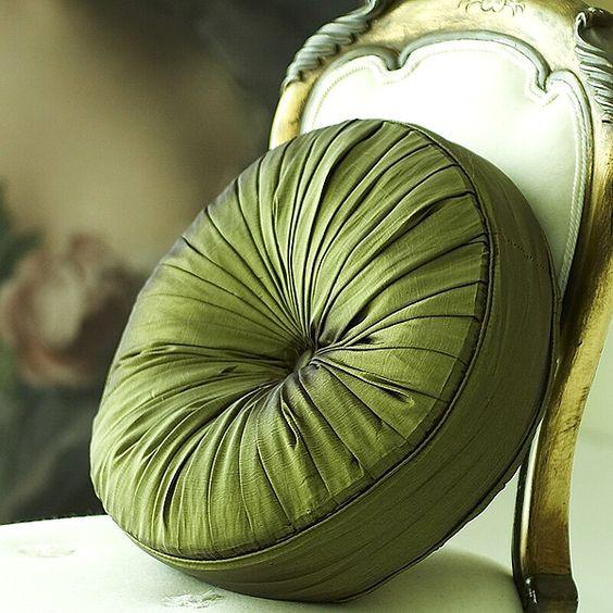 Georgie Green Cushion