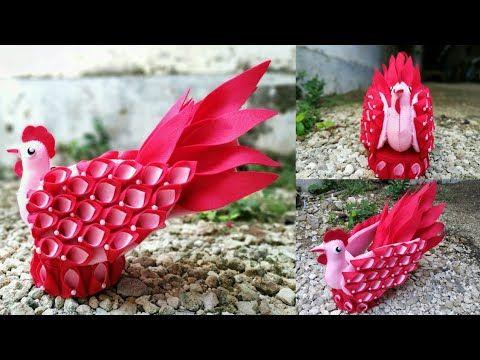 62 Ide Kreatif Cara Membuat Tempat Permen Dari Flanel Candy Ayam Candy Merak Candy Angsa Youtube Kreatif Ide Permen
