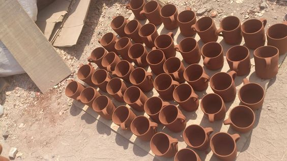 Procedimiento en la elaboración de jarritos. Visitanos en www.ArtesaniasDeTonala.com