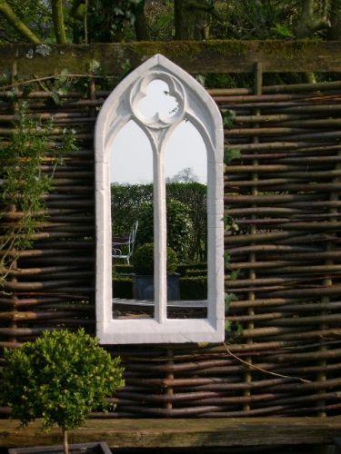 Gotische Tuinspiegel - Dubbele Boog