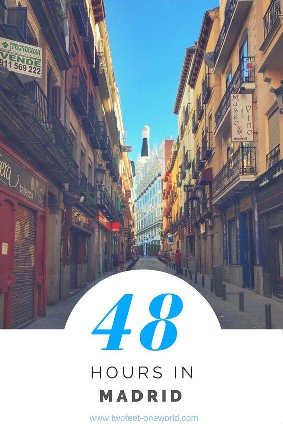 48 Hours in Madrid, Spain