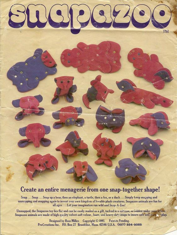 RedditPics - Remember Snapazoo? (just found the instructions)