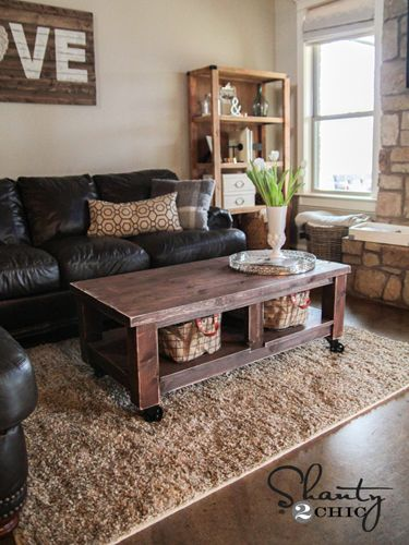 diy coffee table douglas fir wood and coffee tables on pinterest. Black Bedroom Furniture Sets. Home Design Ideas