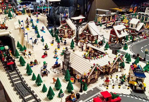 Lego City Mocs In 2020 Lego Christmas Village Lego Christmas Lego Winter