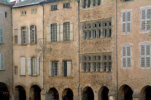Villefranche de Rouergue, Aveyron. France