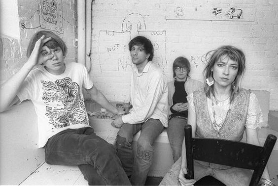 Sonic Youth - 1980s Click Here to Follow HISTORY IN PICS