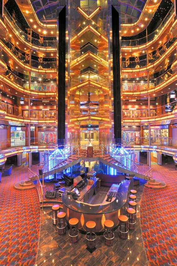 The Lobby Of The Carnival Ecstasy We39ve Got Beautiful Viewsinside AND