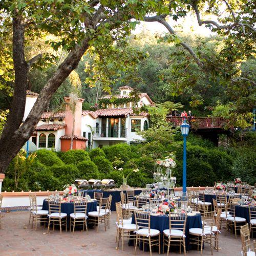 Rustic Outdoor Wedding Venue In Southern California