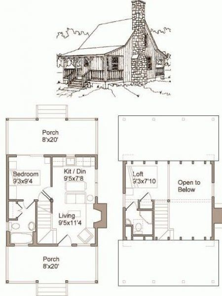 The Best Tiny House Plans Free Collection Related To Tiny House Plans Free Small In 2020 Cabin House Plans Little House Plans Tiny House Plans