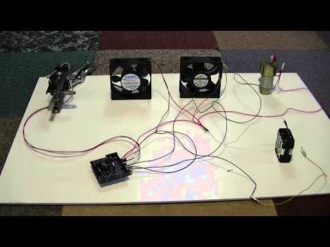 Wood Gas Fuel-Air Ratio Controller Arduino Shield - YouTube