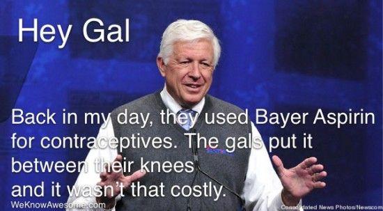 Hey Gal, Put An Aspirin Between Your Knees