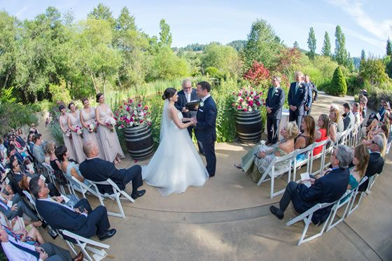 Wine Country Wedding: From Garden to Wine Cave at Hans Fahden Vineyards | Carter Brookes Photography