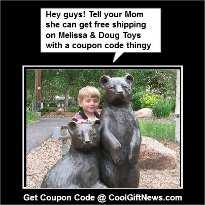 Melissa & Doug Toys Holiday Coupon Code. This is such a cute picture. :)
