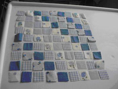 Las miniaturas de Nualamary: Tutorial como hacer una colcha patchwork