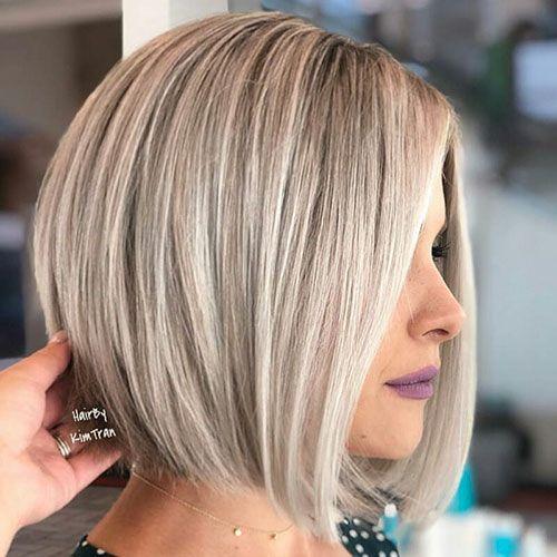 Blonde Bob Frisuren 2019 Frisuren Ideen In 2020 Blonde Bob Hairstyles Bob Hairstyles 2018 Hair Styles