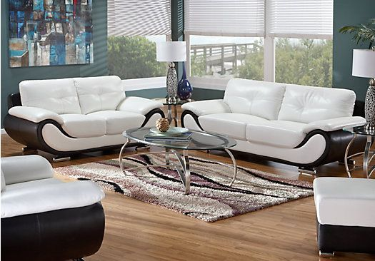 Shop For A New York 7 Pc Living Room At Rooms To Go Find Leather Living Room Sets That Will Look Great In Your Home And Complement The Rest Of You