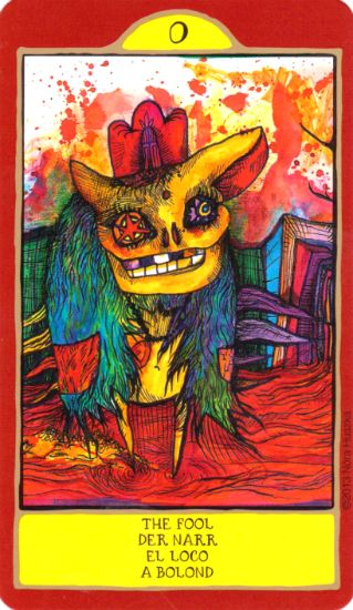 Gypsy Palace Tarot --  The Fool