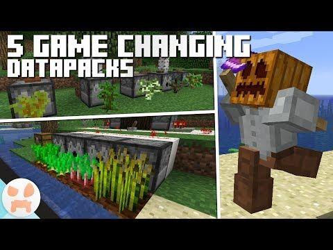5 Game Improving Datapacks Minecraft 1 13 2 Datapack Showcase