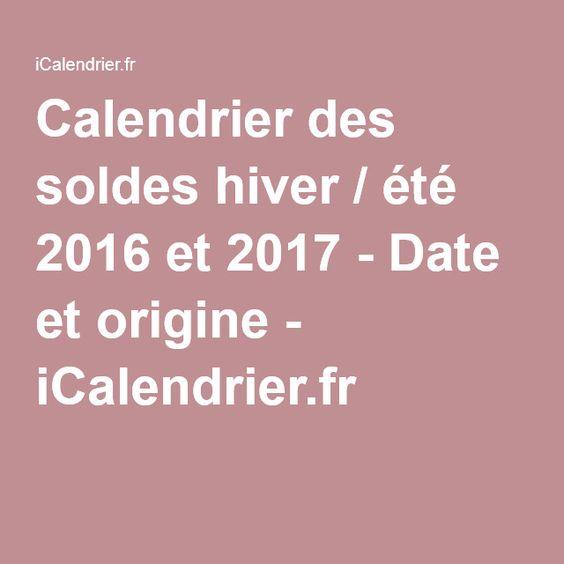 17 best images about origine icalendrier rendez vous - Date soldes hiver 2016 ...