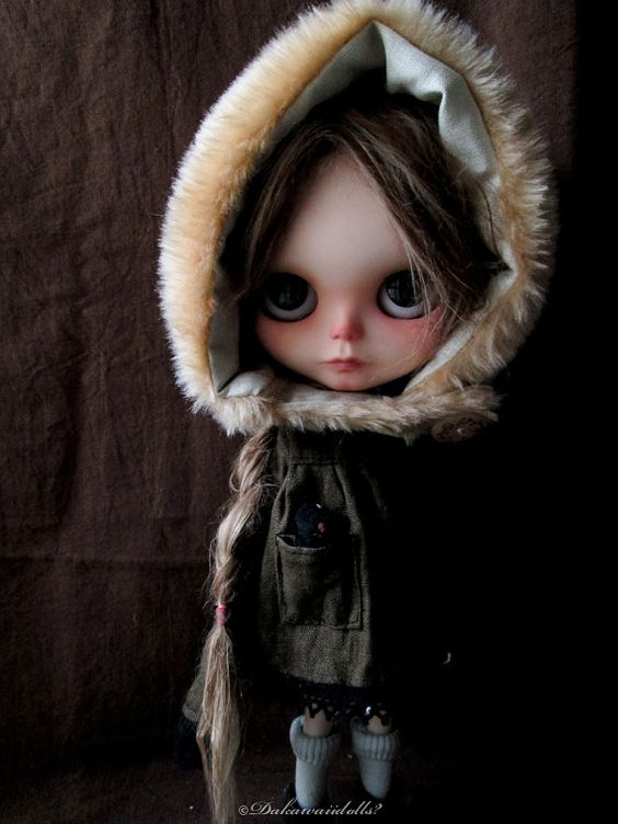 Blythe Doll outfit / Dress 1/6 doll size / by Dakawaiidolls, $63.00