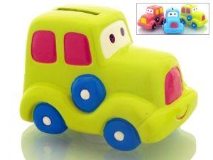 Hucha Infantil cochecito de ceramica para detalle regalo niños y niñas #Grandetalles