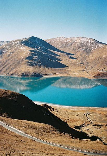 Beautiful Lake in Tibet
