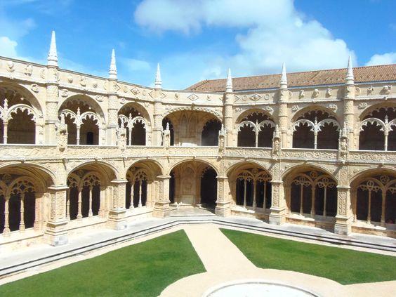 Le Monastère de Jeronimos. http://wp.me/p3Y6sE-kE