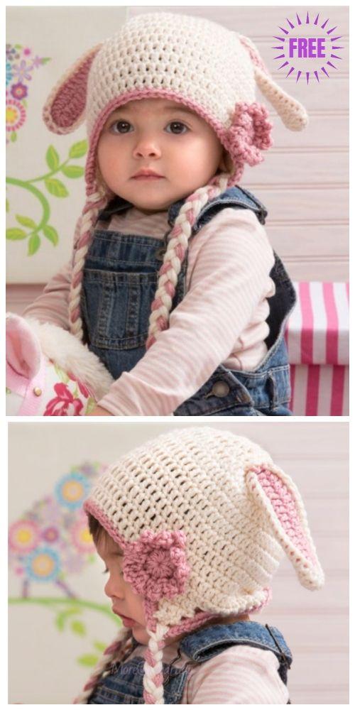 Crochet Bunny Hat Free Crochet Patterns Crochet Bunny Pattern Crochet Hats Crochet Baby