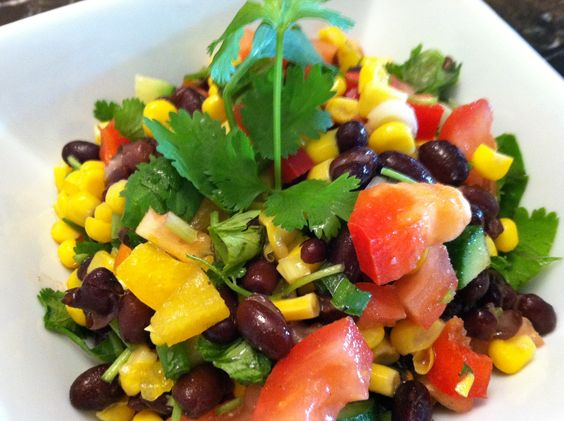 Southwest salad recipe and cooking video