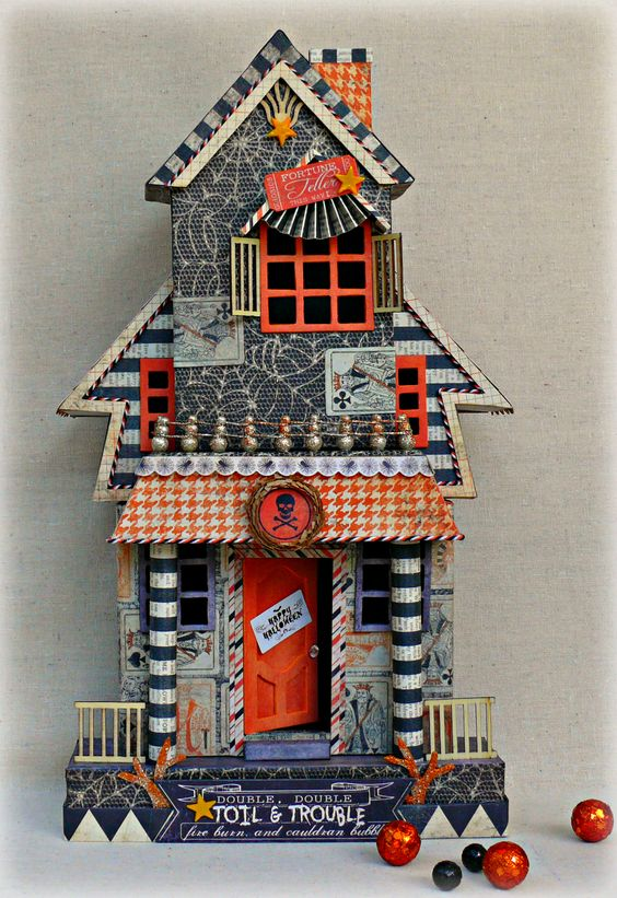 Haunted HouseScrapbook.com DIY Crafts Pinterest Haunted