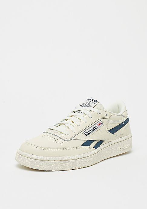 reebok klassische sneaker aus weißem leder