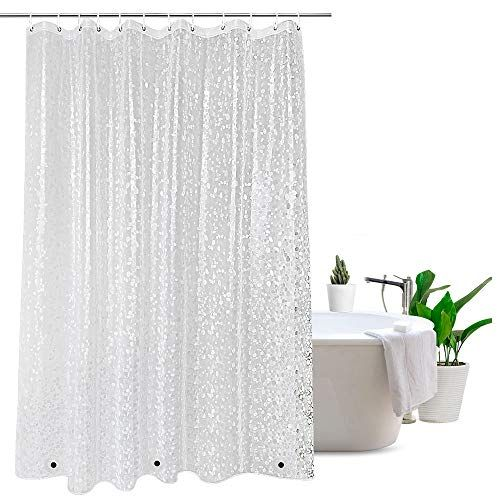 Eurcross Eco Friendly Shower Curtains With Crystal Stone