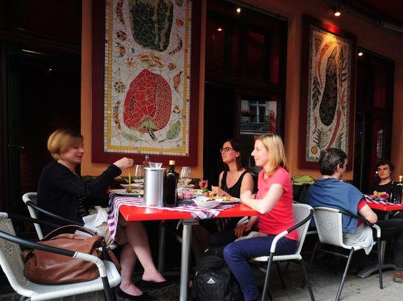 Very great Greek food, and not the greasy kind. Restaurant Z, Berlin (Kreuzberg)