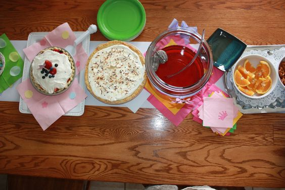 Birthday with Pie and Tea, Pedicures and Puppies, Samara Turned 5.
