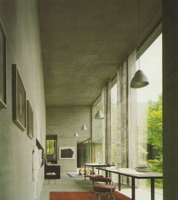 atelier peter zumthor by peter zumthor, haldenstein
