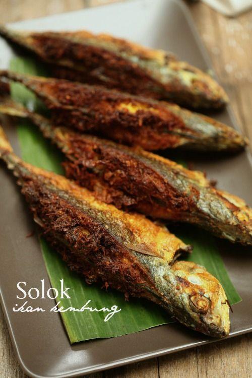 Masam manis solok ikan kembung stuffed deep fried fish for Deep fried fish