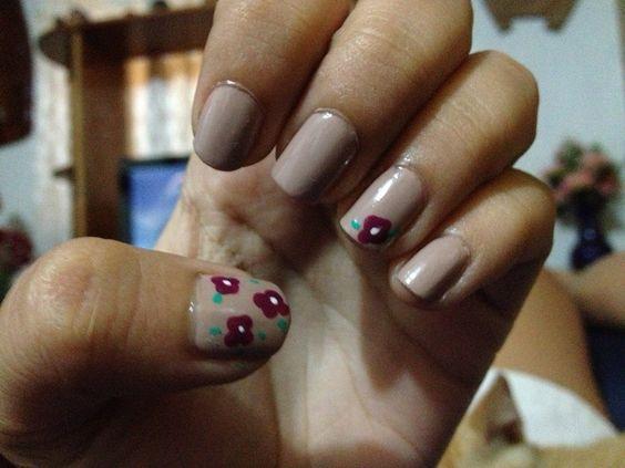 #Uñas #Nails #Flower