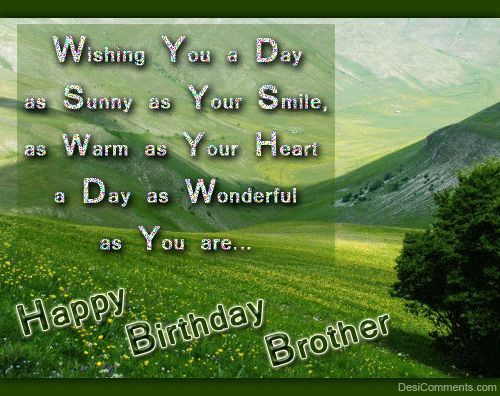 Image Result For Brother Birthday Wishes Sms