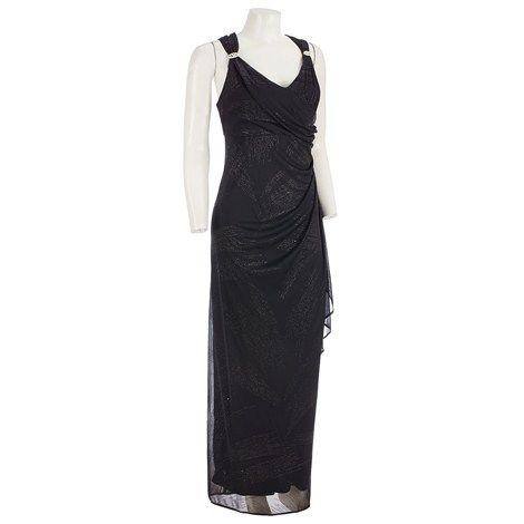 Glittering Brushstroke Long Dress 292441334  Dresses  Women ...