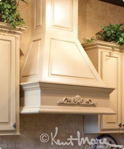 Hoods vent hood and range hoods on pinterest for Kitchen ventilation ideas